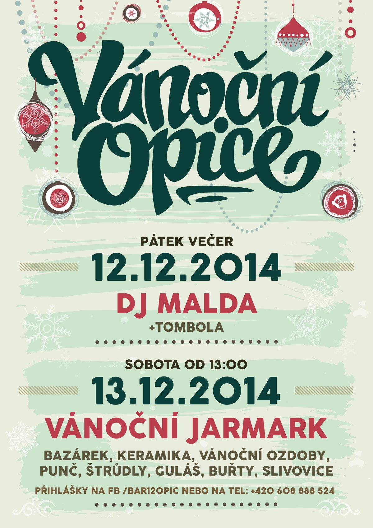 12 opic, 13. 12. 2014